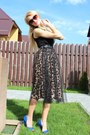 H-m-sunglasses-zara-heels-h-m-top-lily-j-london-skirt