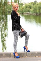 Zara bag - Stradivarius jeans - Vero Moda blazer - Zara heels