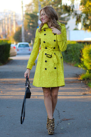 Sheinside coat - Zara boots - romwe bag