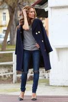 Bershka jeans - Zara heels