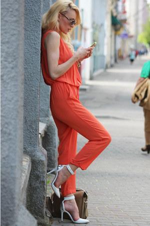 Choies jumper - Stradivarius heels