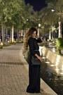 Black-h-m-shoes-black-divacharms-dress-black-michael-kors-bag