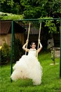 Ivory-naf-naf-dress