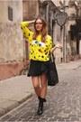 Yellow-choies-sweatshirt