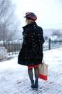 Red-tartan-vintage-scarf