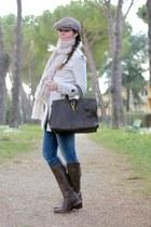 YSL bag - sendra boots