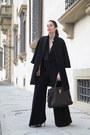 Black-aniye-by-coat-dark-brown-yves-saint-laurent-bag-black-alexoo-suit