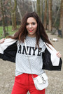 White-motivi-bag-red-milly-pants-white-aniye-by-t-shirt