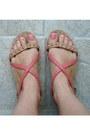 Pink-bershka-sandals