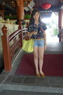 Longchamp-bag-topshop-shorts-mango-belt-zara-loafers-floral-random-brand