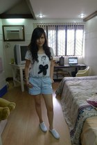 Payless shoes - Zara shirt - kira plastinina shorts