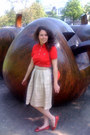 Red-lacoste-shirt-lanvin-for-h-m-bag-silk-vintage-skirt