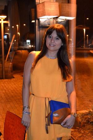 Sfera dress - Zara bag - fw fashion jewellery necklace