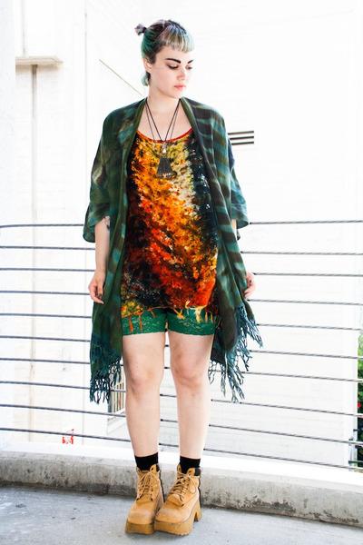vintage dress - jacket