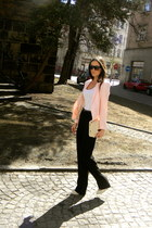 Mango blazer - Zara bag - Gate sunglasses - Bershka pumps - Mango pants
