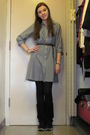 Gray-delias-dress-black-jcp-tights-black-charlotte-russe-boots