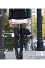 Black-leather-jacket-jacket-black-plush-tights-white-tutu-skirt-skirt