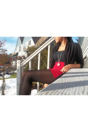 Candies necklace - Rampage boots - closed foot Leggs tights
