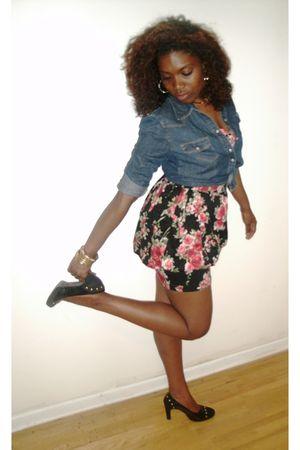 banana republic skirt - Forever 21 dress - thrifted shoes