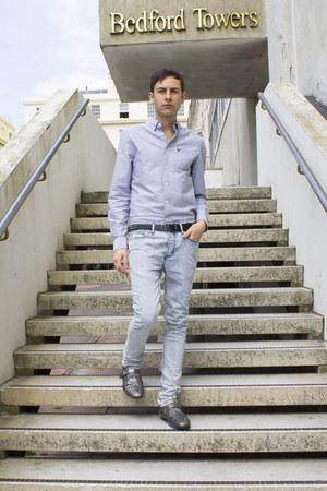 River Island jeans - Vai Jeans shirt - River Island belt