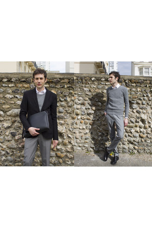 jacket - Zara sweater - Dolce&Gabbana shirt