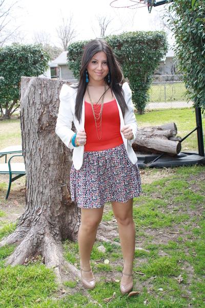 Aldo shoes - Urban Outfitters blazer - Forever 21 skirt