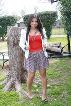 Aldo shoes - Urban Outfitters blazer - Forever 21 skirt