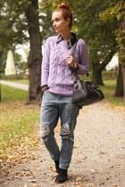Lilac sweater