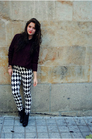 OASAP sweater - Choies pants