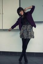 New Yorker blazer - H&M skirt - New Yorker blouse