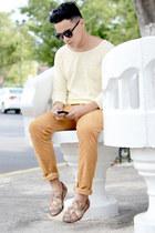 Zara shoes - Zara shirt - zeroUV sunglasses - Zara pants