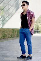 pull&bear shoes - Breve Soul shirt - zeroUV sunglasses - Tonic Clothing pants