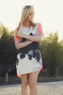 salmon Finders Keepers dress