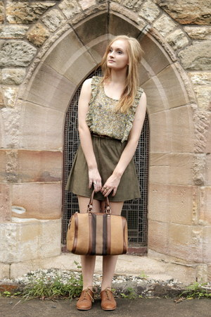 light brown bowler Sportsgirl bag
