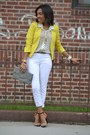 Orange-zara-shoes-ivory-h-m-jeans-gold-h-m-blazer