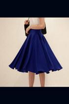 navy spandex skirt - black spandex skirt