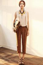 blouse JAMYStyle by shez top - pants JAMYStyle by shez pants