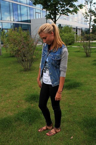 Jeans Sandals Supertrash Jeans H&m Sandals