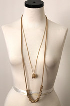 long layer set necklace