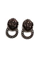 lion head JK Rouge earrings