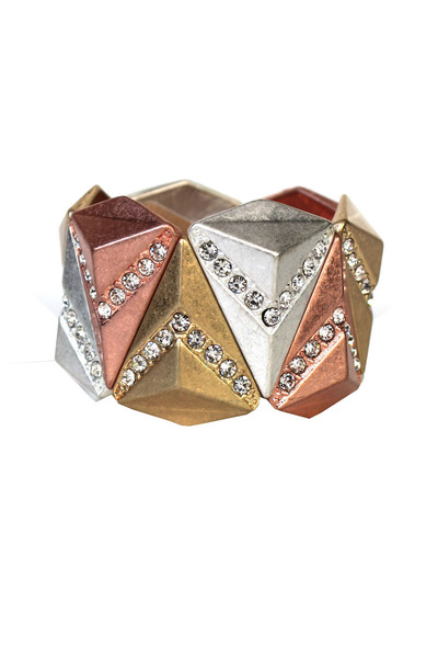 retro pyramid bracelet