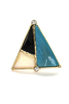 triangle retro ring