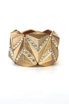 pyramid chain bracelet