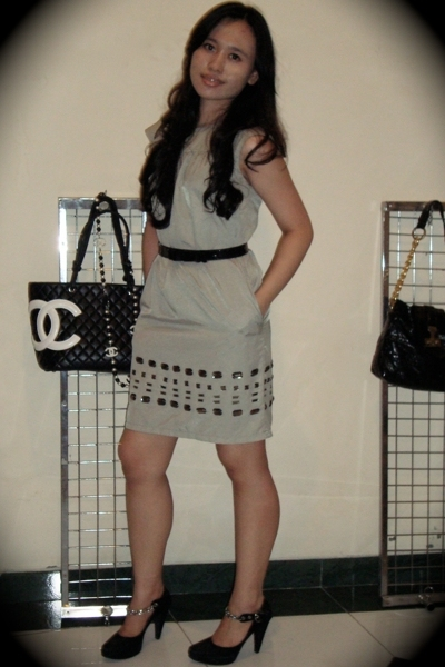 Marni dress - Rotelli shoes - Chanel accessories