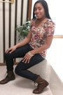 Dark-brown-leather-h-m-boots-navy-forever21-jeans-bronze-floral-print-h-m-sh