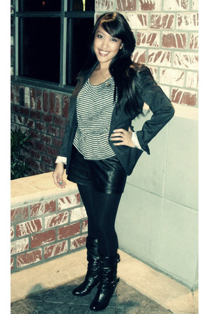 Urban Outfitters blouse - Forever21 blazer
