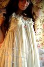 White-h-m-dress-white-calzedonia-stockings-pink-selfmade