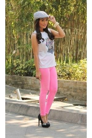 Topshop pants - Zara heels