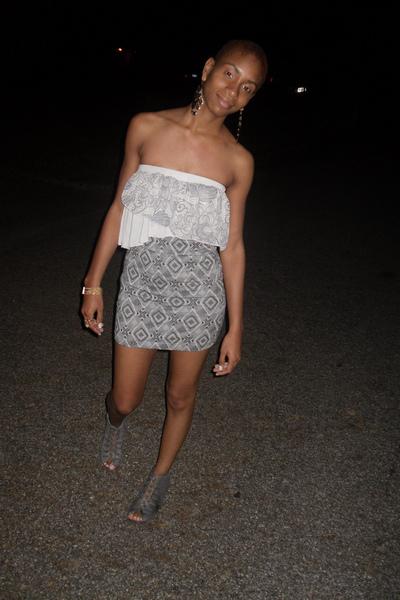 charlotterussecom top - forever21com skirt - gojanecom shoes - forever21com acce