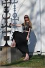 Oliver-peoples-glasses-elizabeth-and-james-skirt-pencey-top-topshop-shoes-
